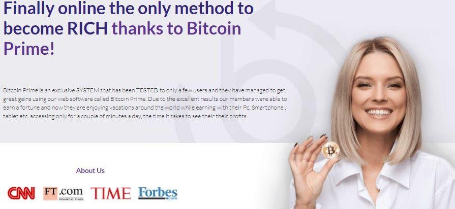 Bitcoin Prime Trading Platform