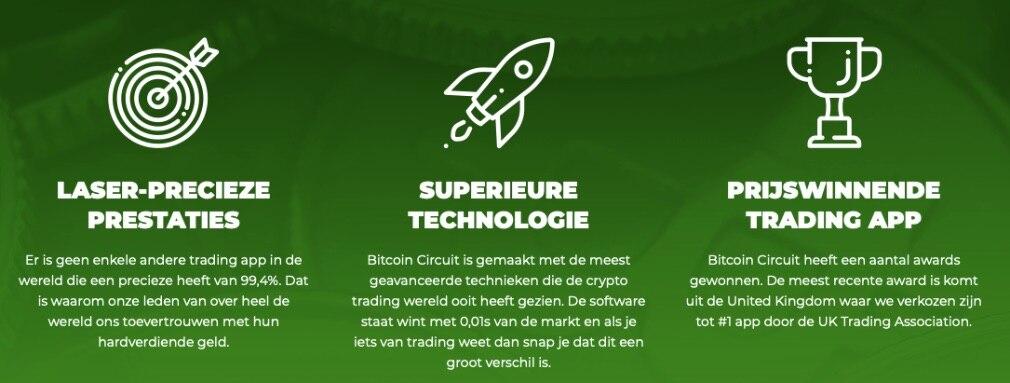Bitcoin Circuit Voordelen