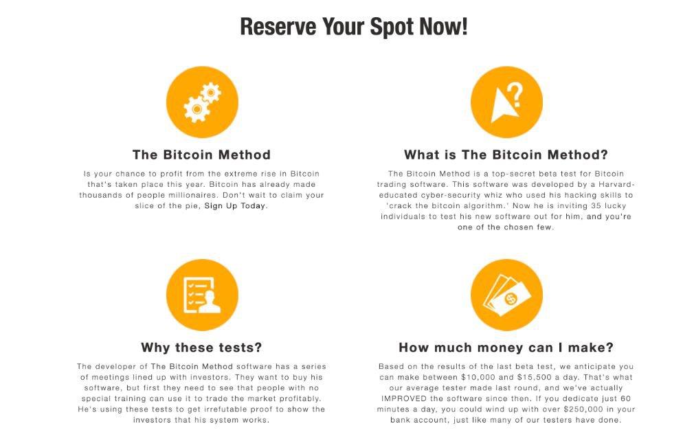 Bitcoin Method Voordelen