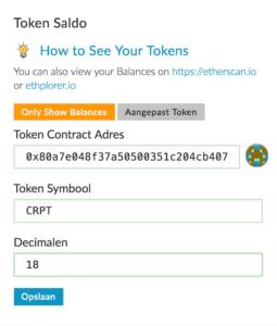 MyEtherWallet.com – De Ideale Ethereum Wallet voor al je ERC-20 Coins, Tokens en ICO's