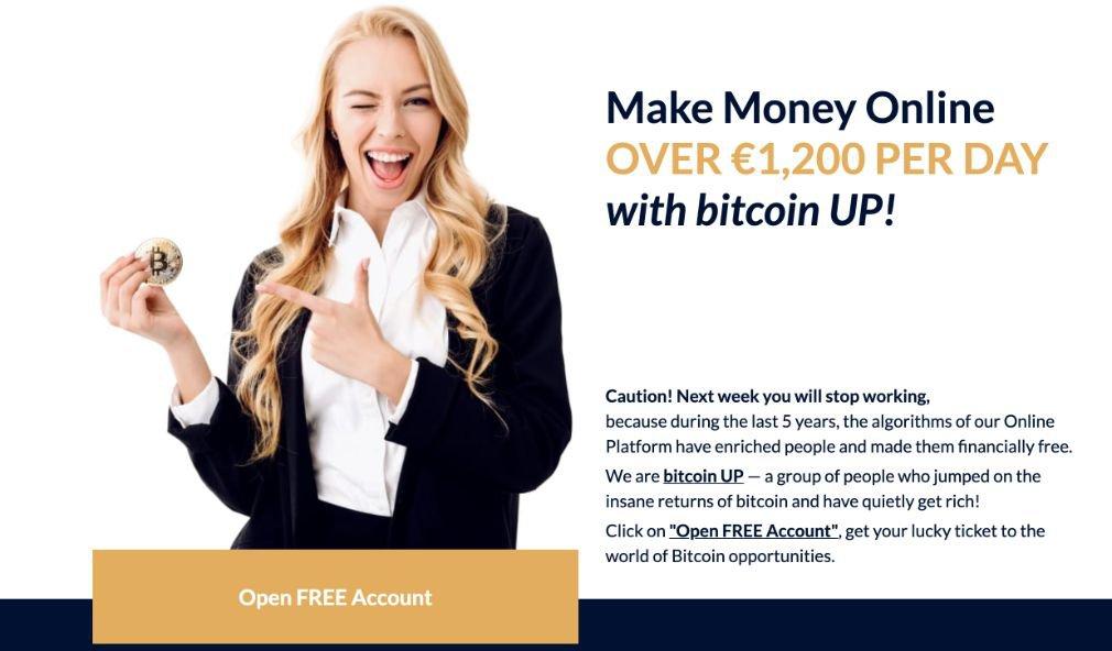 Bitcoin UP Voordelen