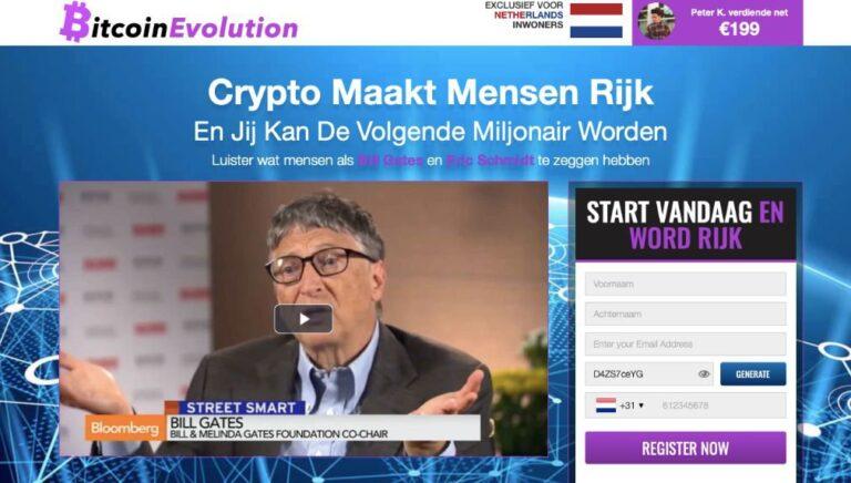 Bitcoin Evolution Ervaringen