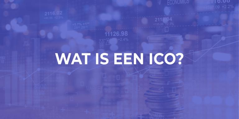 Wat is een ico?